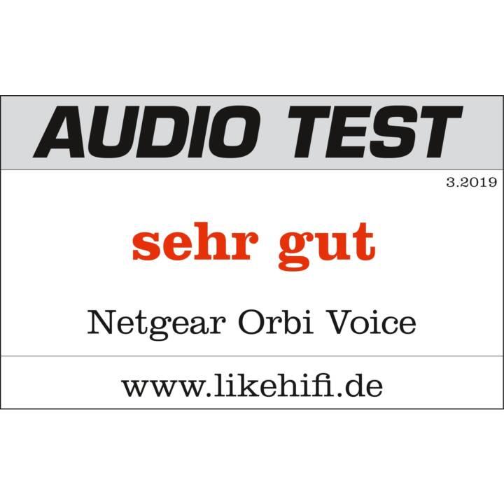 NETGEAR RBS40V-100EUS Orbi Voice Satellite WLAN-Mesh Router