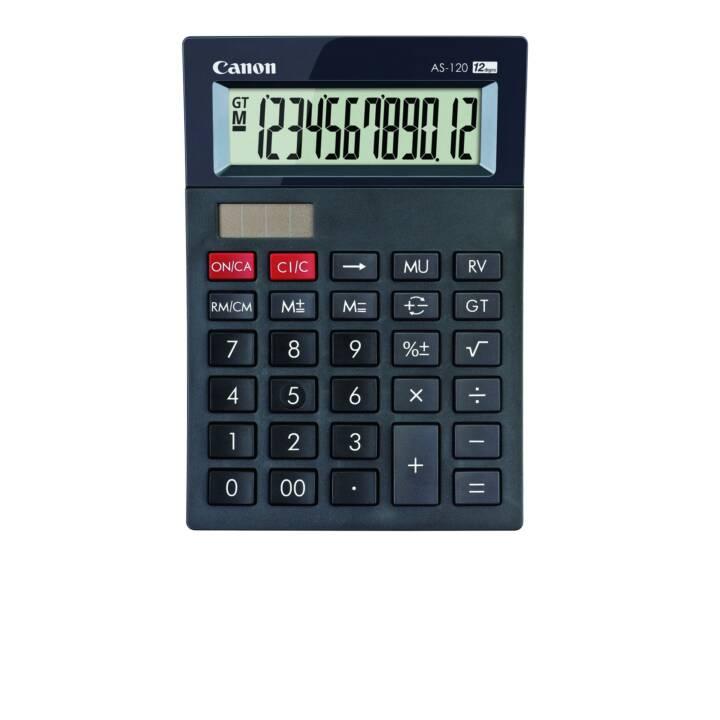 CANON AS-120 Calcolatrici da tascabili (Batteria / Accumulatore, Cellule solari)