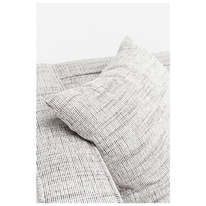 KARE Salt & Pepper Canapé (Polyester, Gris, 226 cm x 80 cm)