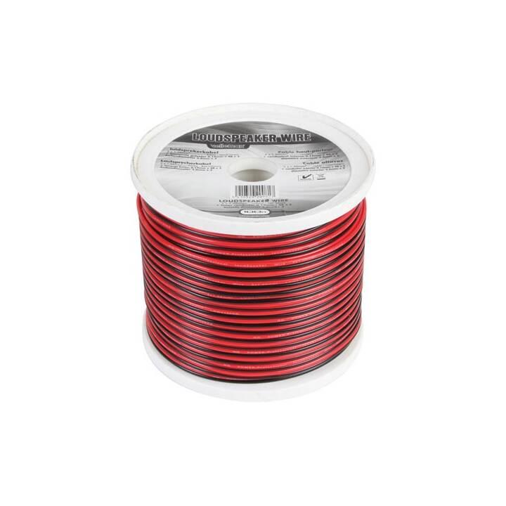 VELLEMAN LOW2150RB Kabel-Meterware (1 m)