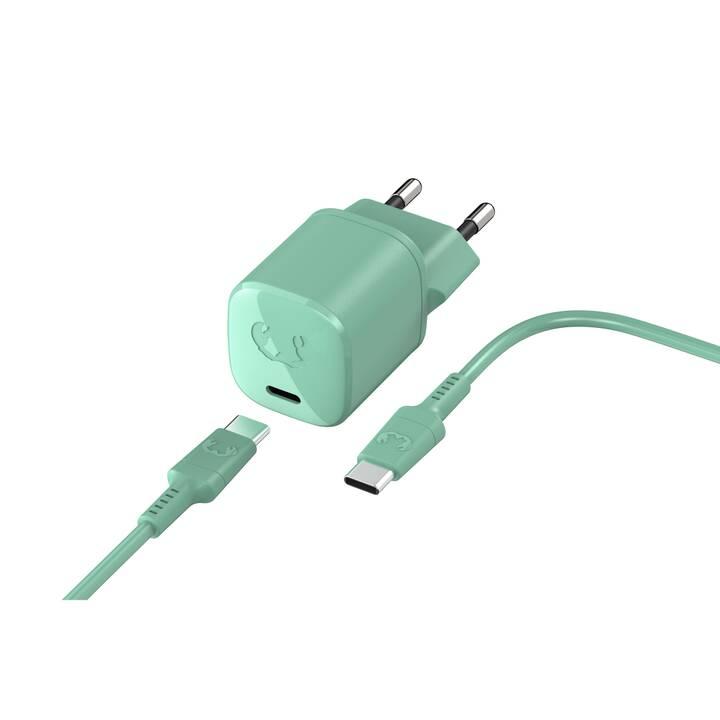 FRESH 'N REBEL USB-C Caricabatteria da parete (18 W, USB-C)