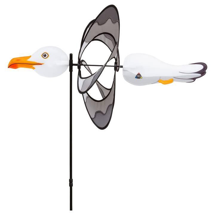 INVENTO-HQ Ruota a vento Paradise Seagull (Bianco, Grigio, 42 cm x 100 cm)