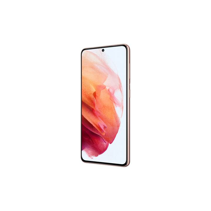 "SAMSUNG Galaxy S21 (5G, 6.2"", 128 GB, 64 MP, Phantom Pink)"