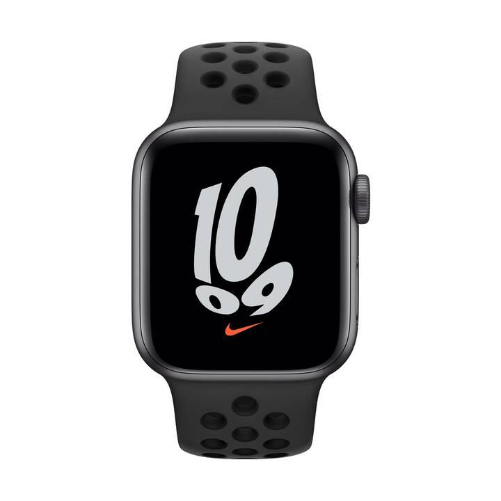 APPLE Watch Nike SE GPS (40 mm, Aluminium, GPS)