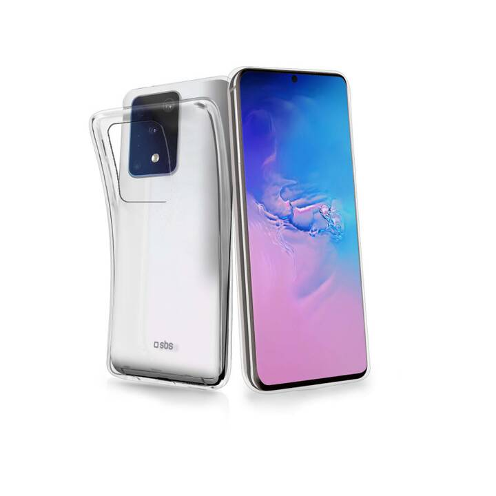 SBS Backcover Cover Skinny (Galaxy A91, Galaxy S10 Lite, Transparent)