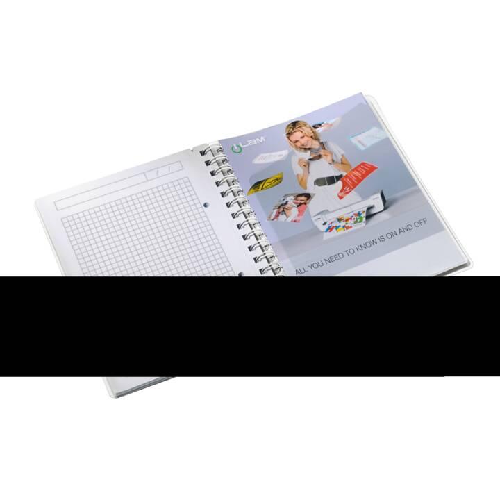 LEITZ WOW A5 A5 notebook da 80 fogli viola