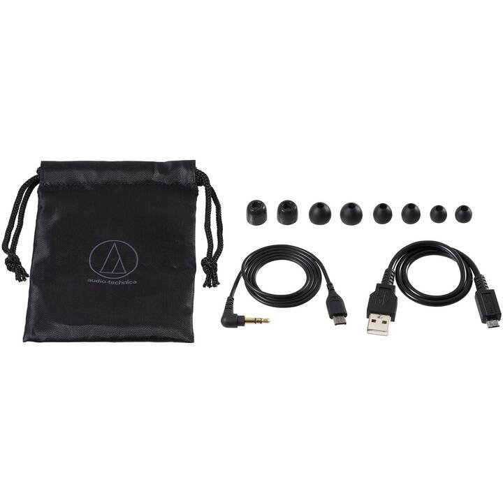 AUDIO-TECHNICA ATH-ANC100BT (In-Ear, Bluetooth 4.2, Bluetooth, Schwarz)