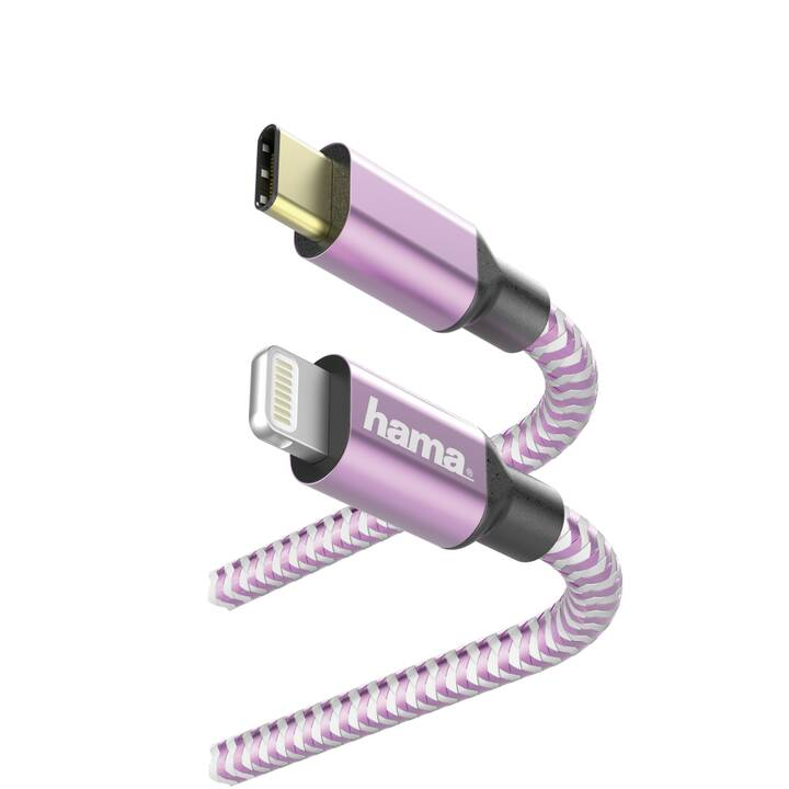 HAMA USB-Kabel (Lightning, USB Typ-C, 1.5 m)