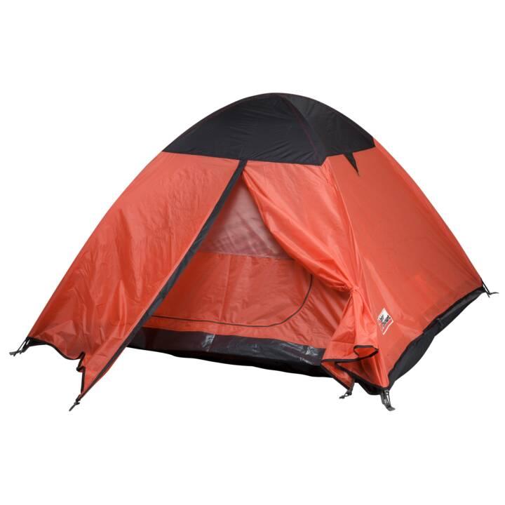 INTERDISCOUNT Kansas 3 (Tenda igloo, Arancione, Nero)