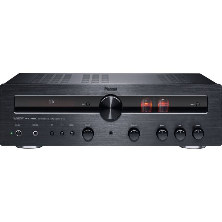 MAGNAT MR 780 (Stereo-Receiver, 300 W, Schwarz)