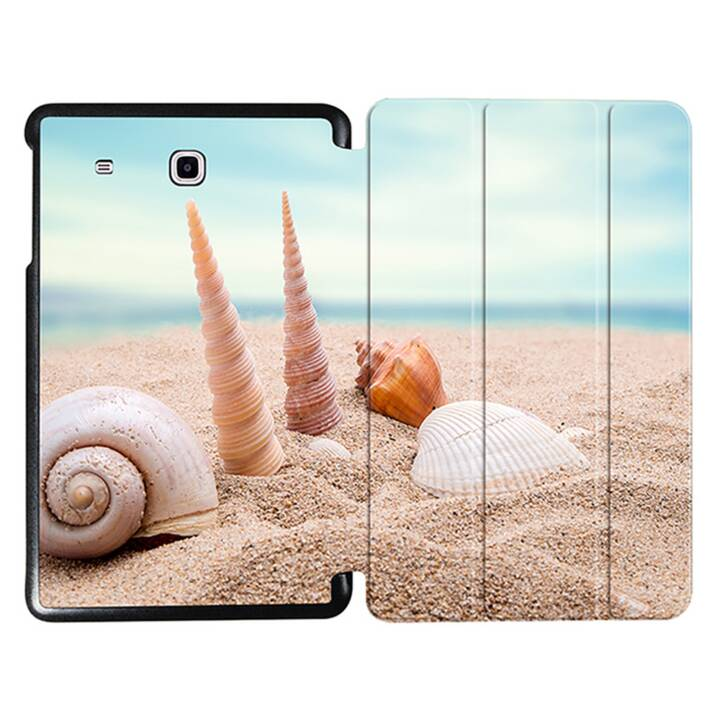 "EG MTT Tablet bag con copertina pieghevole per Samsung Galaxy Tab E 9.6"" - Beach"