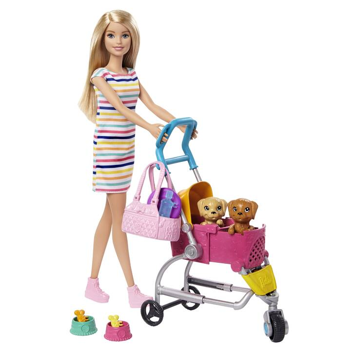 BARBIE Dogsitter Bambola e Accessori