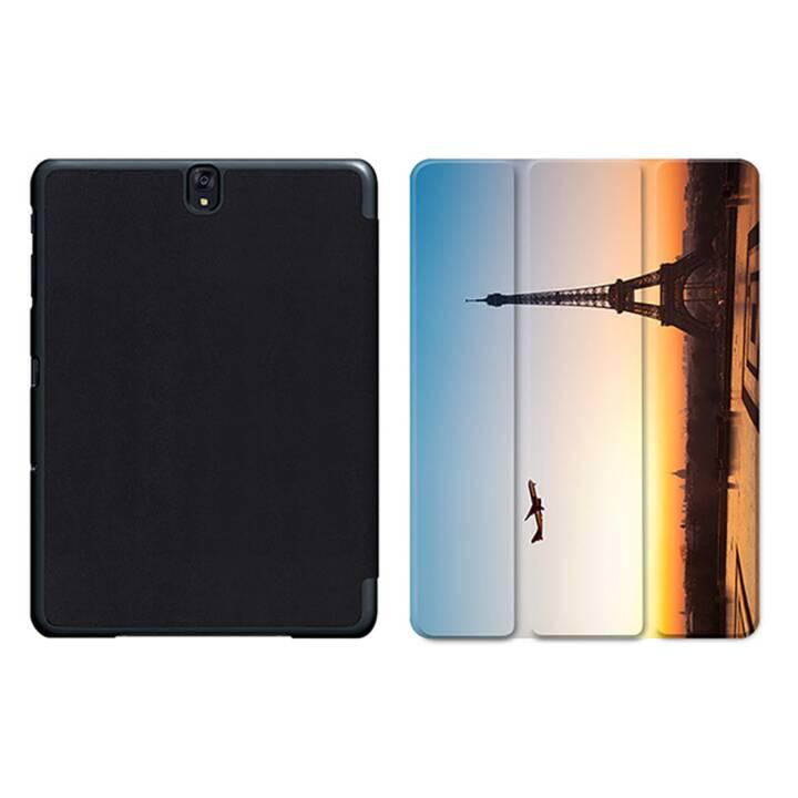 """EG MTT Sacoche pour tablette avec housse pliable Smart pour Samsung Galaxy Tab S3 9.7"""" MTT - Paysage"""
