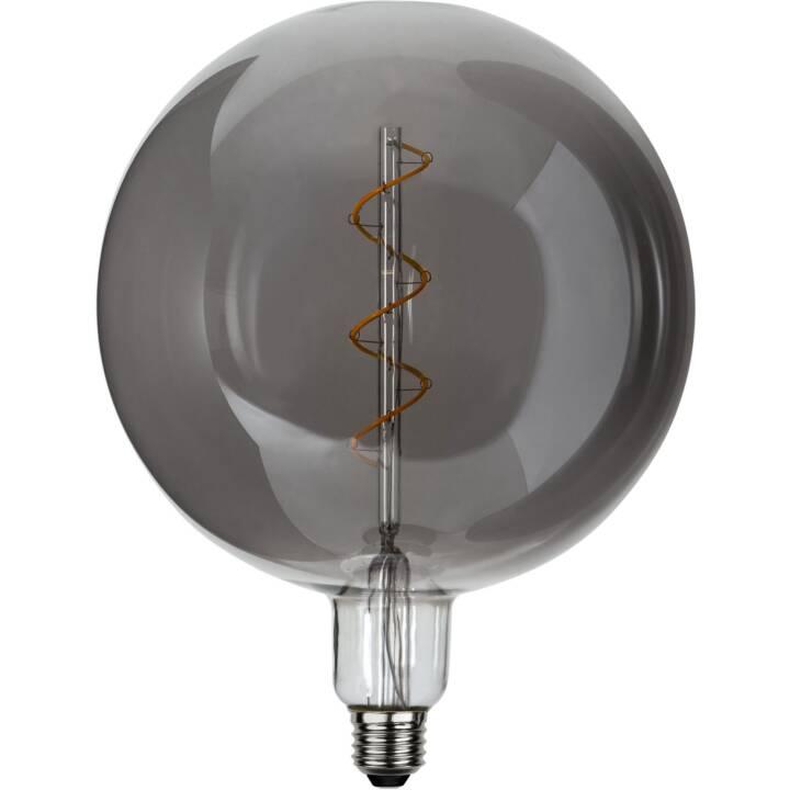 STAR TRADING Lampada a filamenti LED Industrial Vintage Smokey (E27, 85 lm, 2.8 W)