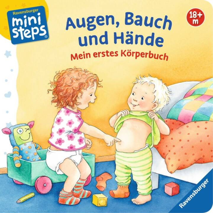 Meine erstes Körperbuch: Augen, Bauch und Hände