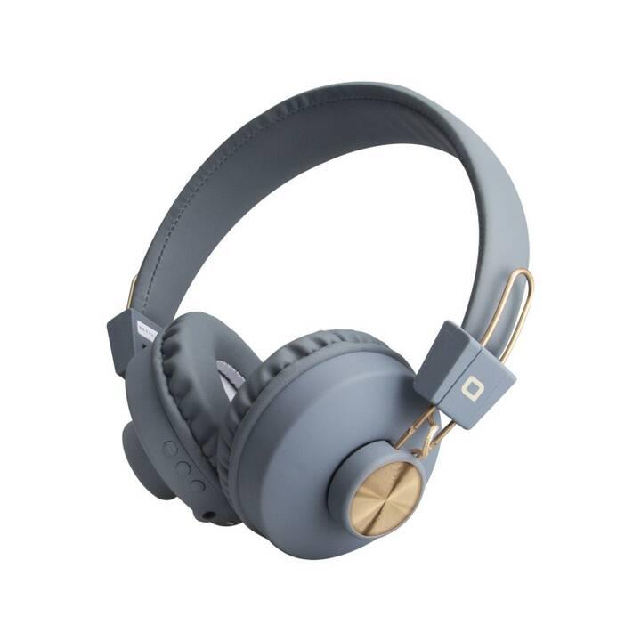 SBS Firenze (Over-Ear, Bluetooth 5.0, Grau)