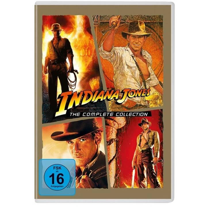 Indiana Jones 1-4 (DE, EN)