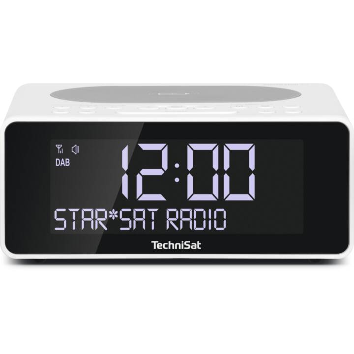 TECHNISAT DAB+ Radio Digitradio 52 (Radio, Weiss)