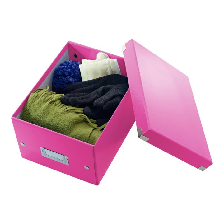 LEITZ WOW Click & Store Small Pink