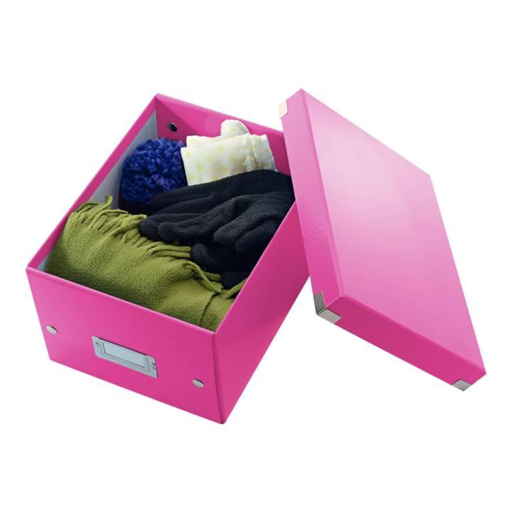 LEITZ WOW Click & Store Piccolo Rosa