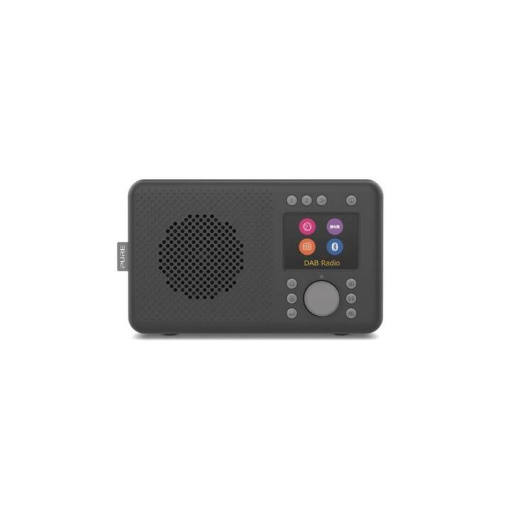 PURE Elan Connect Radios numériques (Charcoal black)