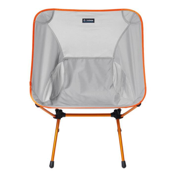 HELINOX Campingstuhl Chair One XL  (Grau, Orange)