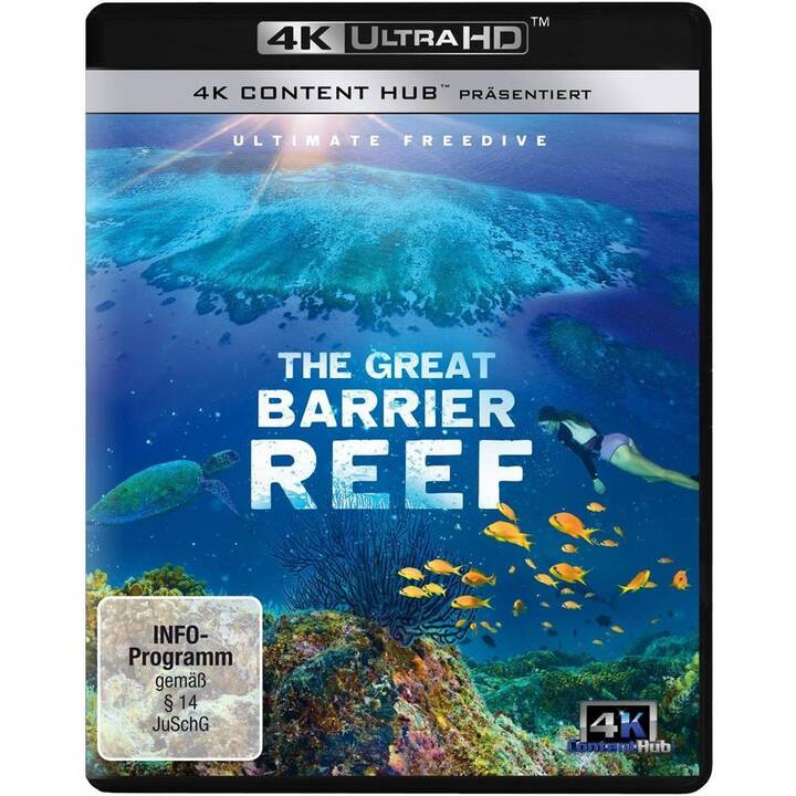The Great Barrier Reef - Ultimate Freedive (4K Ultra HD, DE, EN)