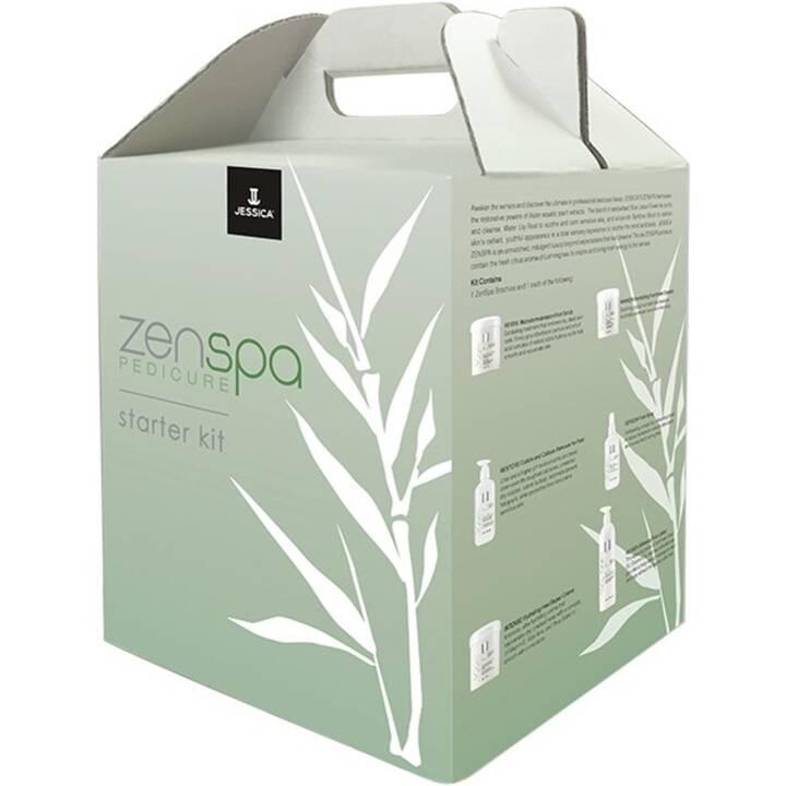 JESSICA Crema per piedi ZenSpa Pedicure Starter-Kit