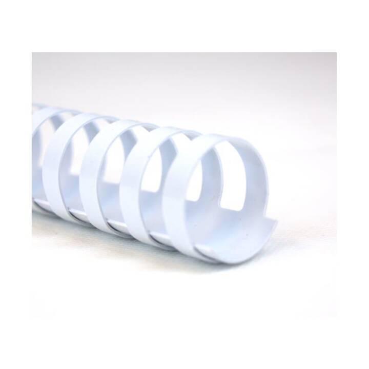 GBC Binderücken CombBind 6 mm, Weiss