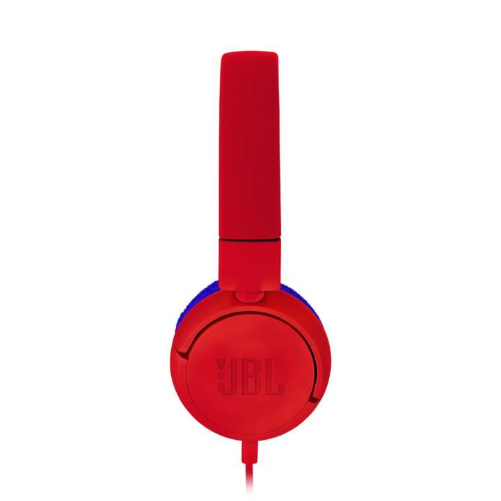 JBL sull'orecchio Junior JR300 Spider Rosso