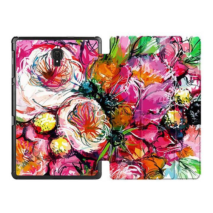 "EG MTT Custodia per Samsung Galaxy Tab S6 10.5"" 2019 - Fiore rosa"