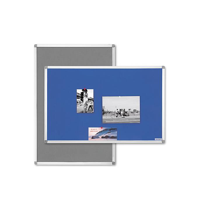 MAGNETOPLAN Tableau en liège (60 cm x 45 cm)