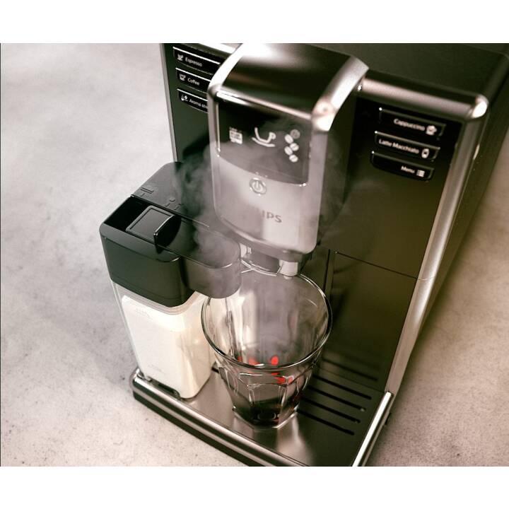 PHILIPS EP5360/10 (Noir, Argent, 1.8 l, Machines à café automatique)