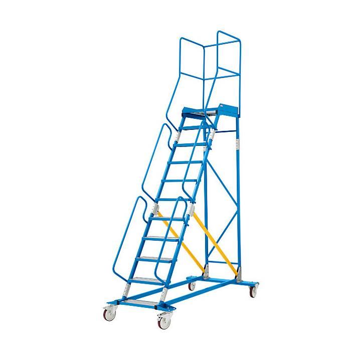 EUROKRAFT Premium Stehleiter (358 cm)