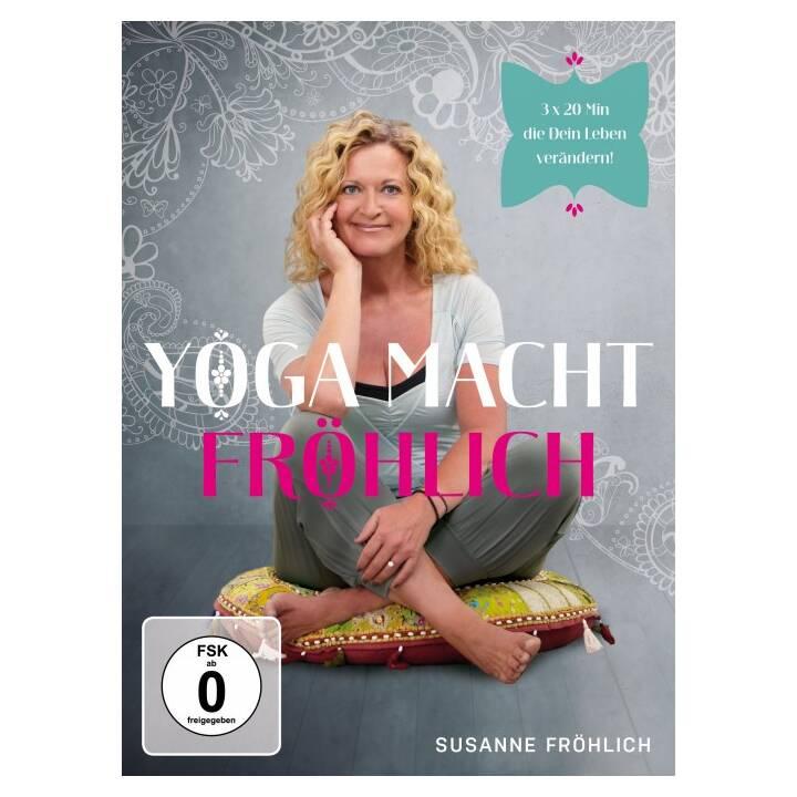 Yoga macht fröhlich - Susanne Fröhlich (EN, DE)