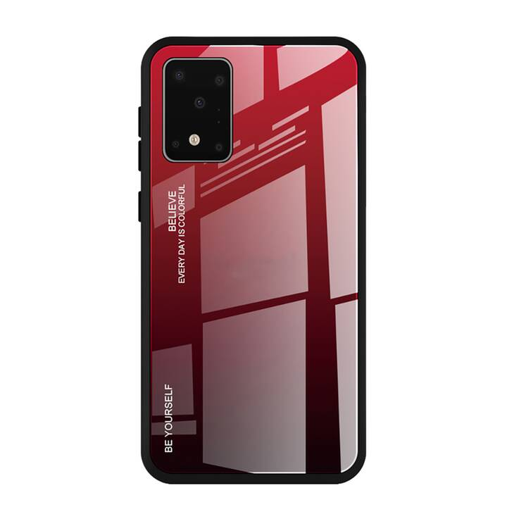 """EG Mornrise couverture pour Samsung Galaxy S20 6.2"""" 2020 - rouge"""
