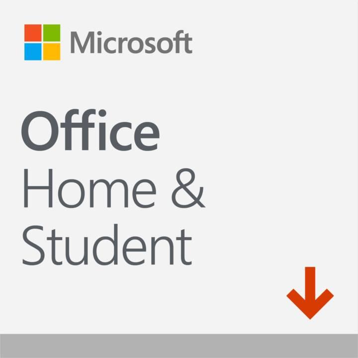 MICROSOFT Office Home & Student 2019 (Versione completa, 1x, Italiano)