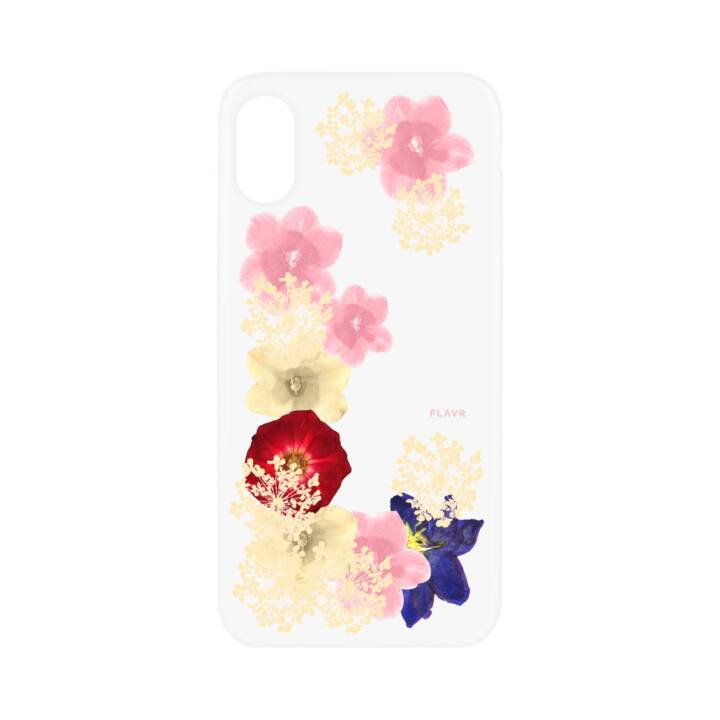FLAVR Backcover iPlate Real Flower Grace für iPhone X