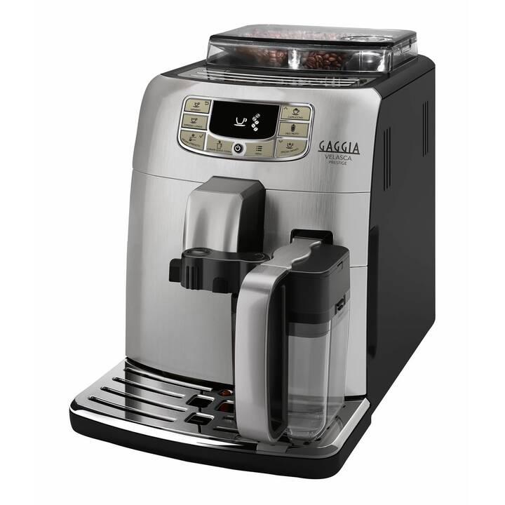 GAGGIA Velasca OTC Prestige (Argento, Nero, 1.5 l, Macchine caffè automatiche)