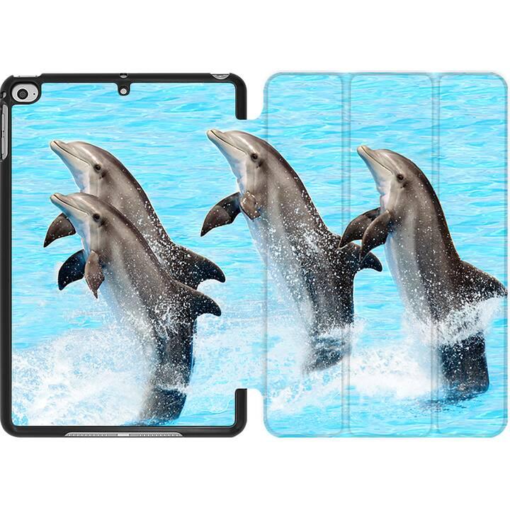 EG MTT Coque pour iPad Mini 4 (2015) et Mini 5 (2019) - Dauphin