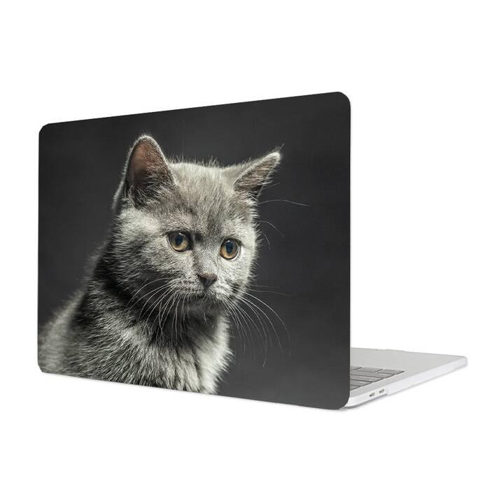 "EG MTT Cover für Macbook Pro 13"" Not Touchbar (2016 - 2018) - Katze"