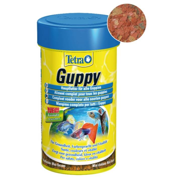 TETRA Guppyfood (250 ml, Flocons)