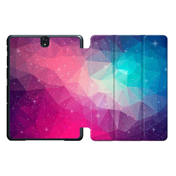 """EG MTT Sacoche à comprimés avec housse Smart pliable pour Samsung Galaxy Tab S3 9.7"""" MTT - Rose"""