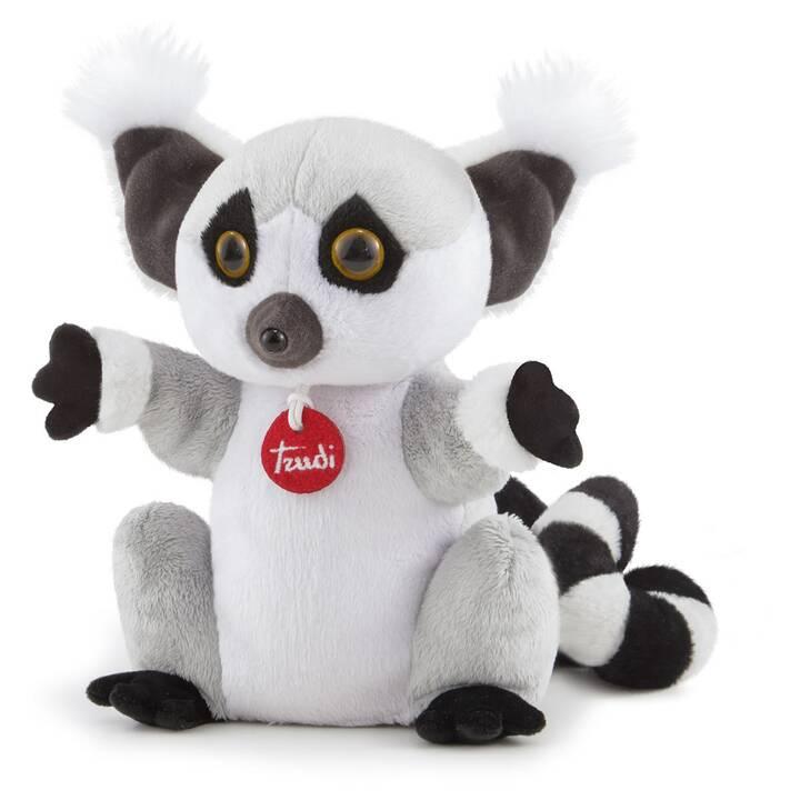 TRUDI Lemur (23 cm, Grigio, Bianco, Nero)