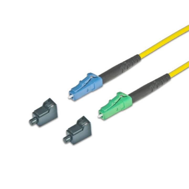 LIGHTWIN Câble réseau (LC-Simplex, Fiche E-2000 (APC), 30 m)