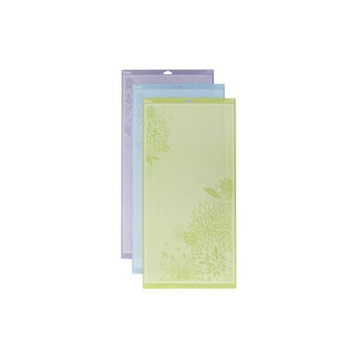 CRICUT Schneidematten Variety Pack (610 mm x  305 mm, Blau, Grün, Violett)
