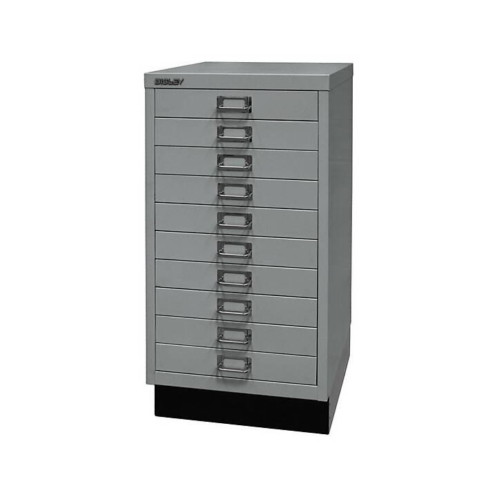 BISLEY MultiDrawer Schubladenbox (A3, Silber)