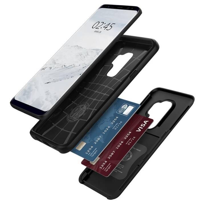 SPIGEN Backcover Slim Armor CS (Galaxy S9 Plus, Noir)