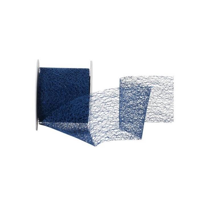 SPYK Geschenkband Easy (70 mm x 10 m, Blau, Einfarbig)