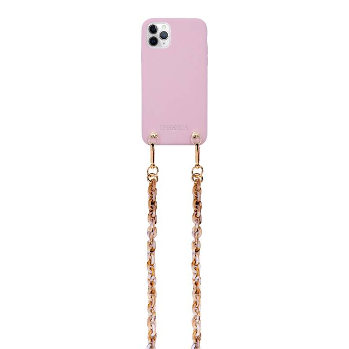 IPHORIA Backcover con cordoncino Necklace (iPhone 11 Pro, Pink)